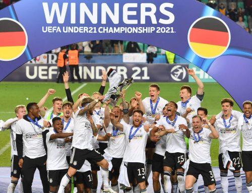 Saksa U21 EM-kisojen mestari! Portugali kaatui viihdyttävässä finaalissa