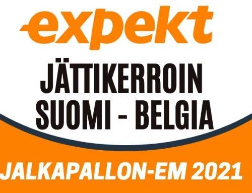 Expektiltä 50€ ilmaisveto ja 100% voitonkorotus Suomi – Belgia otteluun!